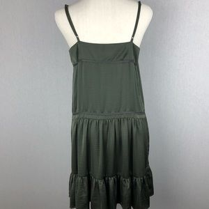 Staring at Stars Dresses - Urban Outfitters Staring At Stars Olive Dress